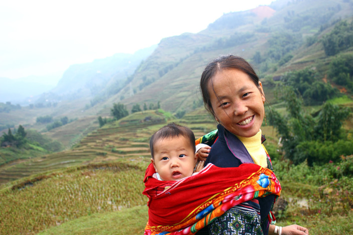 Sapa Sisters guide Lang