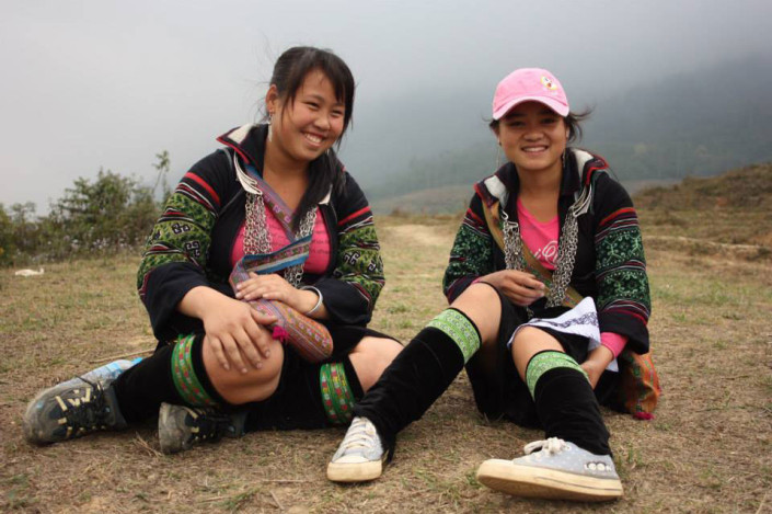 Sapa Sisters guide Mao and Khu
