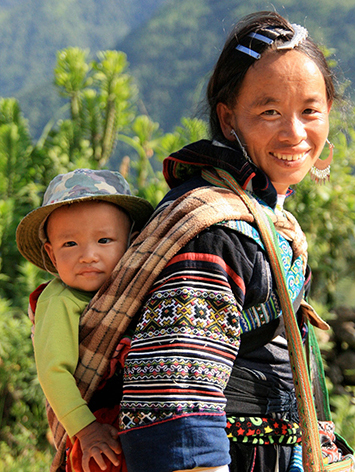 Sapa Sisters guide Chi
