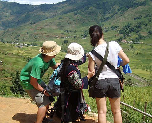 Trekking with Sapa Sisters